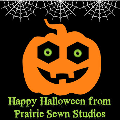 Happy Halloween from Prairie Sewn Studios