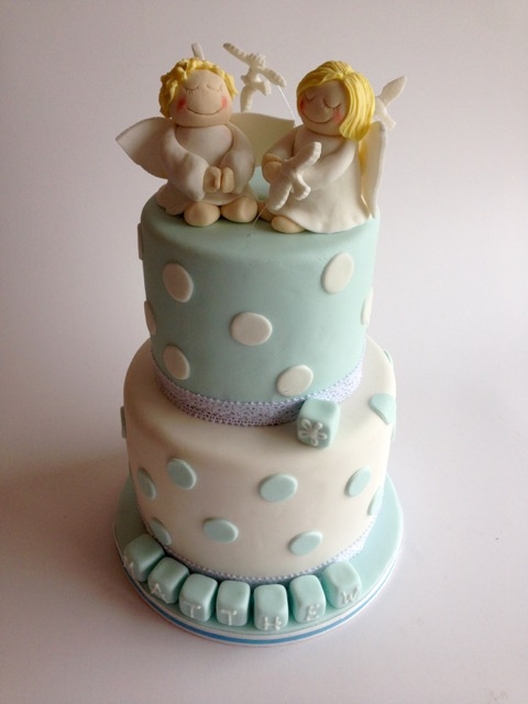 Rozannes Cakes: Angels christening cake
