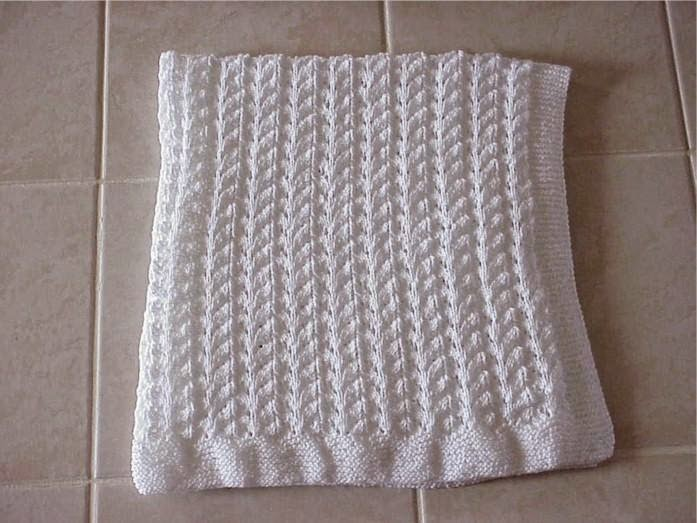 Knitting Pattern For An Easy Baby Blanket : Best Free Crochet Blanket Patterns for Beginners on Pinterest