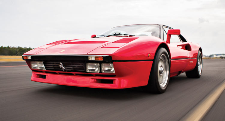 ferrari 288 gto could fetch 2 8 million at auction. Black Bedroom Furniture Sets. Home Design Ideas