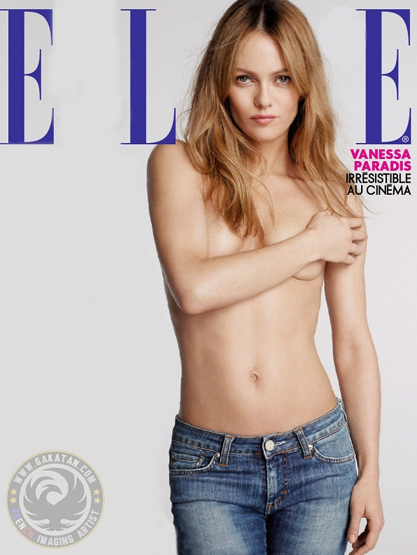 topless Vanessa Paradis