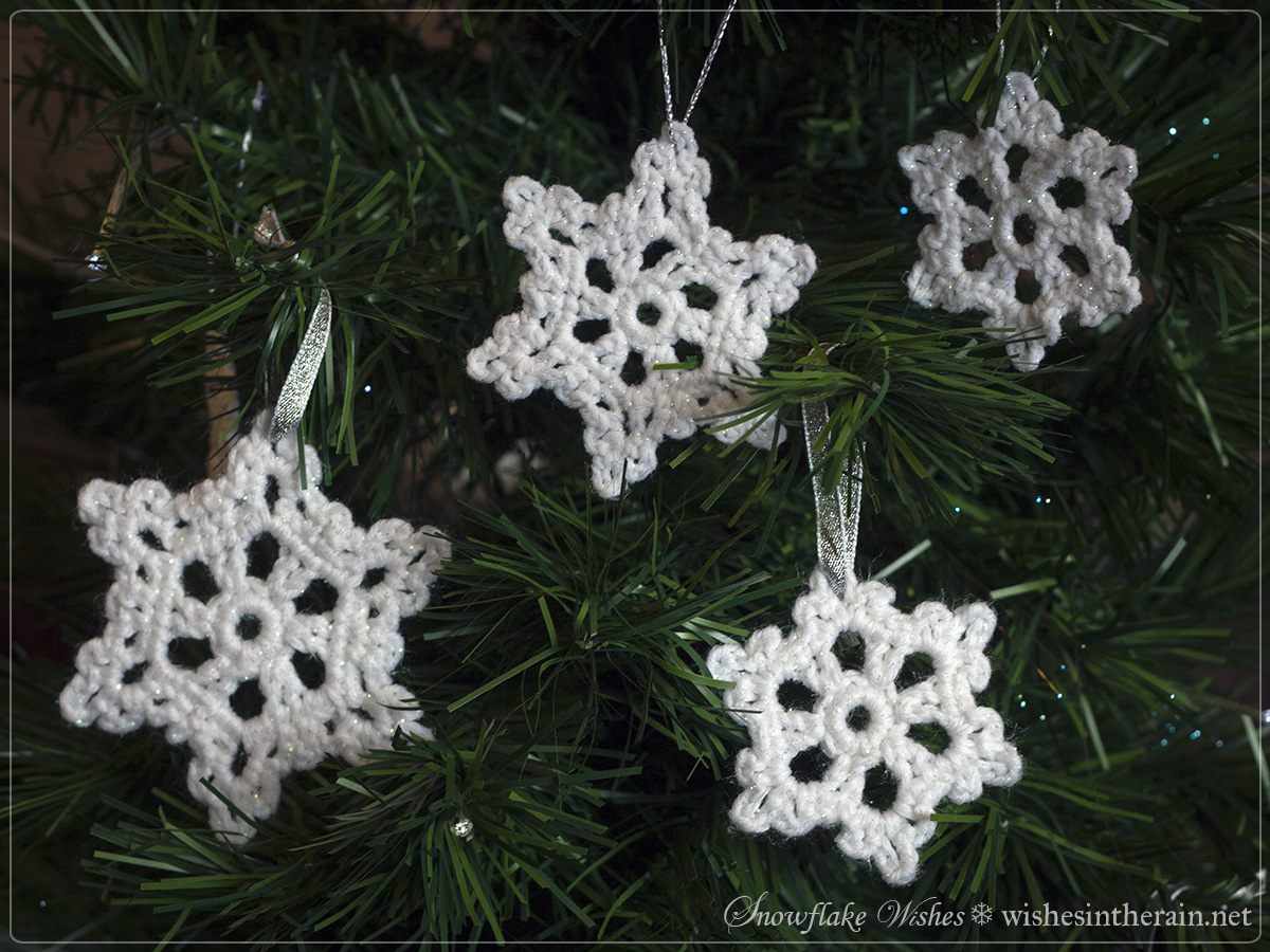 Free Pattern: Snowflake Wishes 2 wishes in the rain