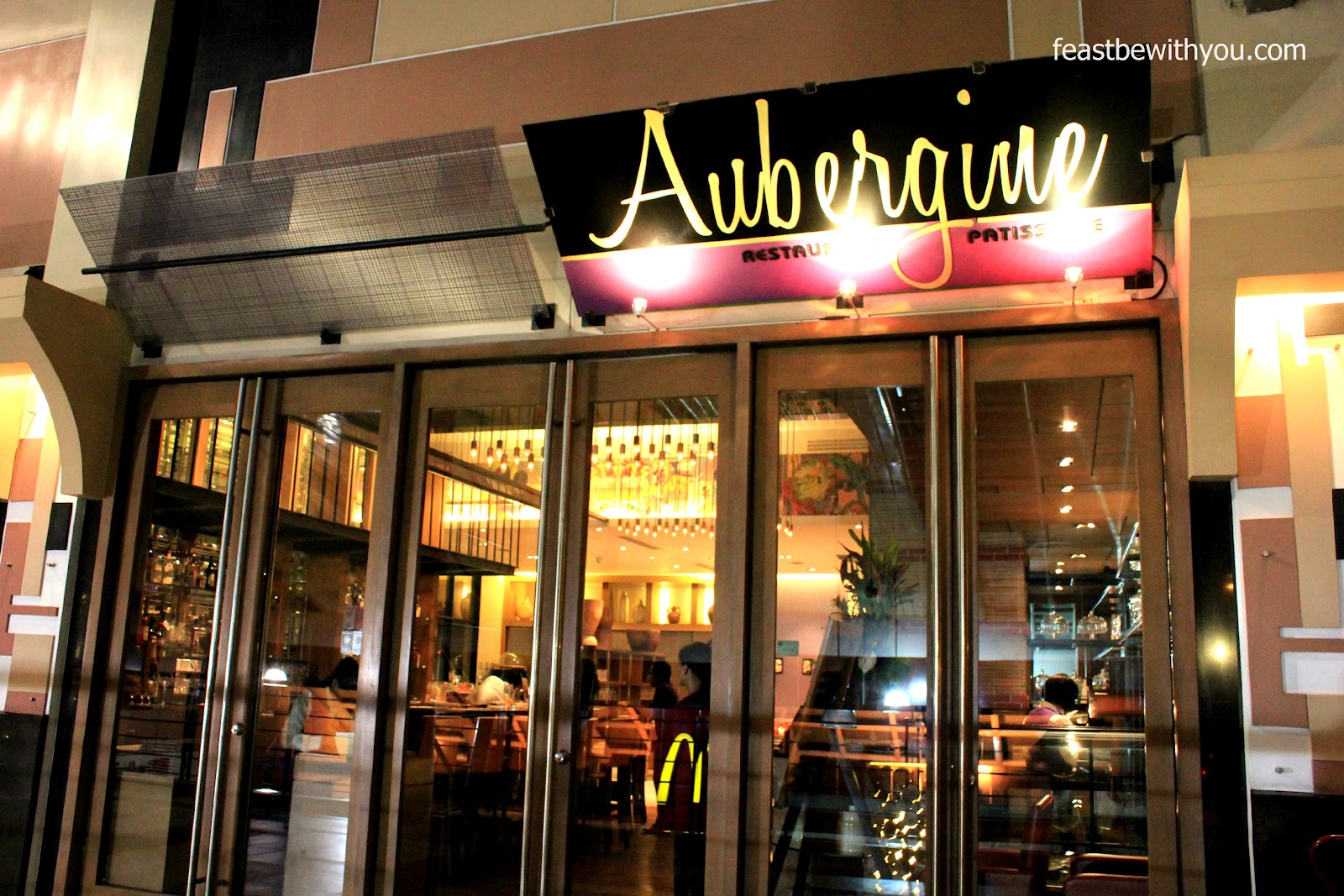 Feast be with you aubergine restaurant and patisserie for Aubergine cuisine
