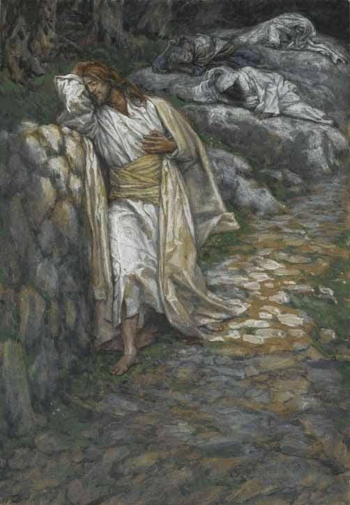 Jesus at Gethsamene