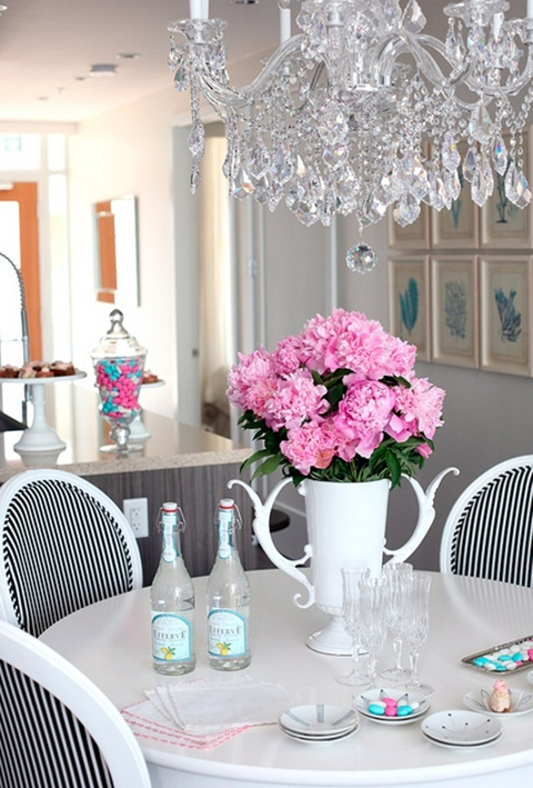 pink & turquoise decor Daily Dream Decor