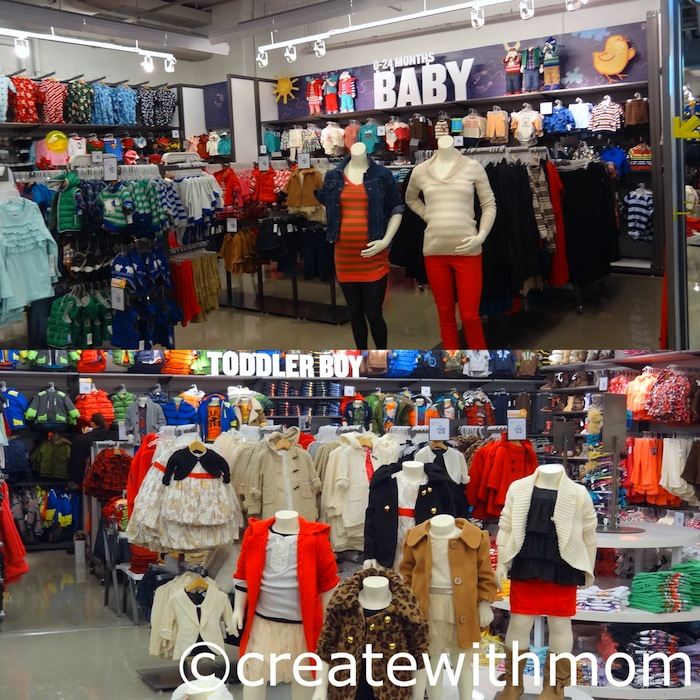 I haven't seen many Old Navy stores with maternity sections, but this one had a pretty good one. It's not too big but it's better than nothing. By the way, unlike the other Old Navy stores I've seen, this one is located inside the mall/5(4).