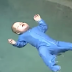 A baby accidentally falls in a swimming pool.. What happened next got me speechless!