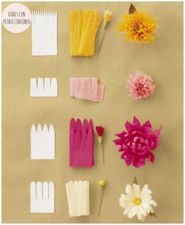 DIY ramo flores papel boda wedding bouquet flowers