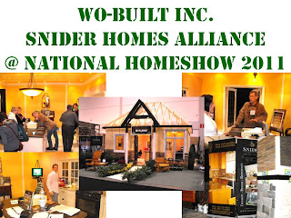 Wo-Built Inc. Snider Homes Alliance, photo collage by Olga Goubar