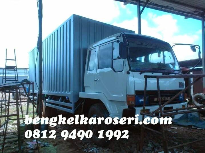 bengkel karoseri menerima repair dan repaint kabin dan ganti karoseri