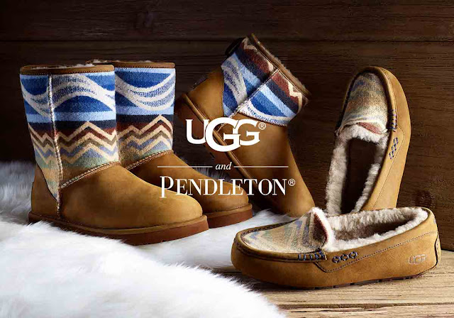 UGG styles with Pendleton's world famous wool