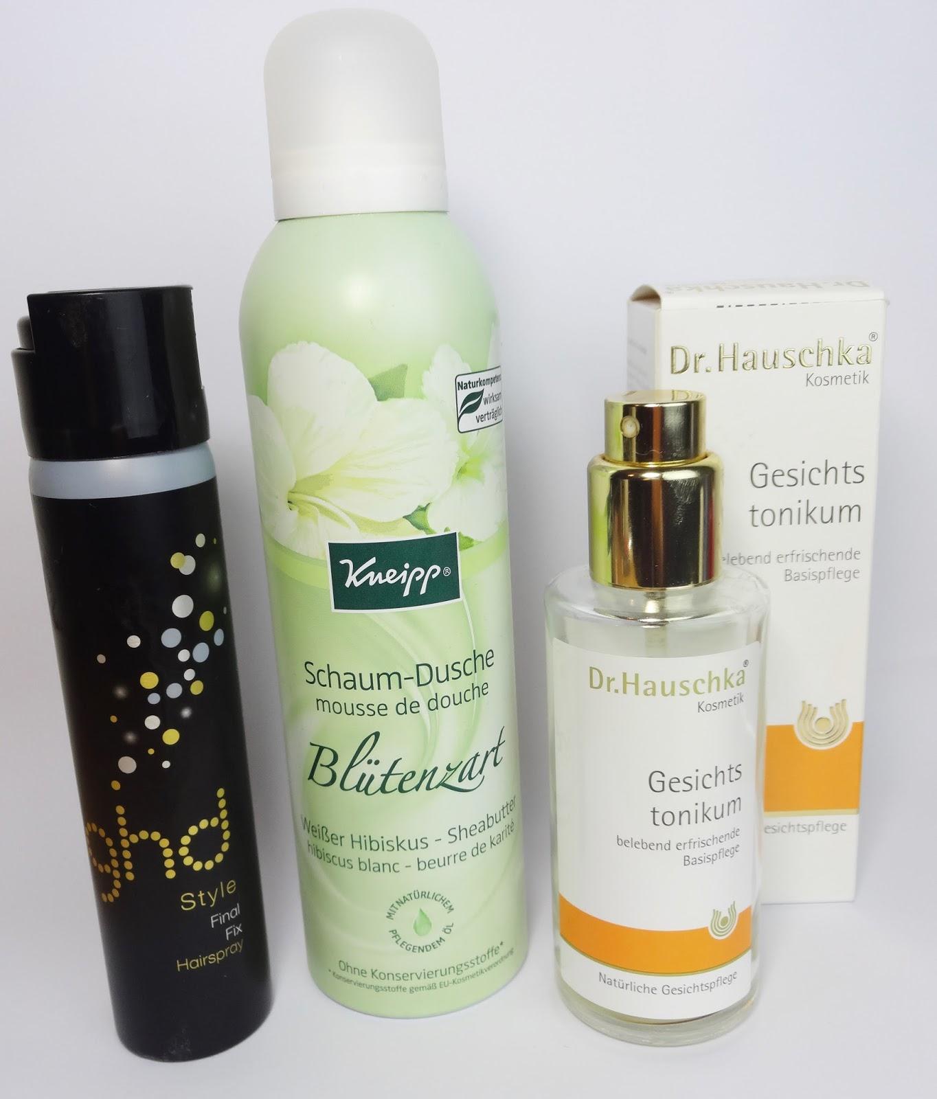 Pretty Clover Beautyblog, Kosmetik, ghd, Kneipp, Dr. Hauschka