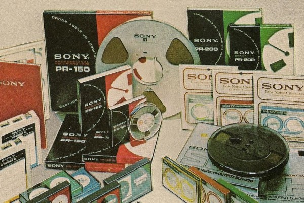 "Каталог компании ""Sony"" (1970-е)"