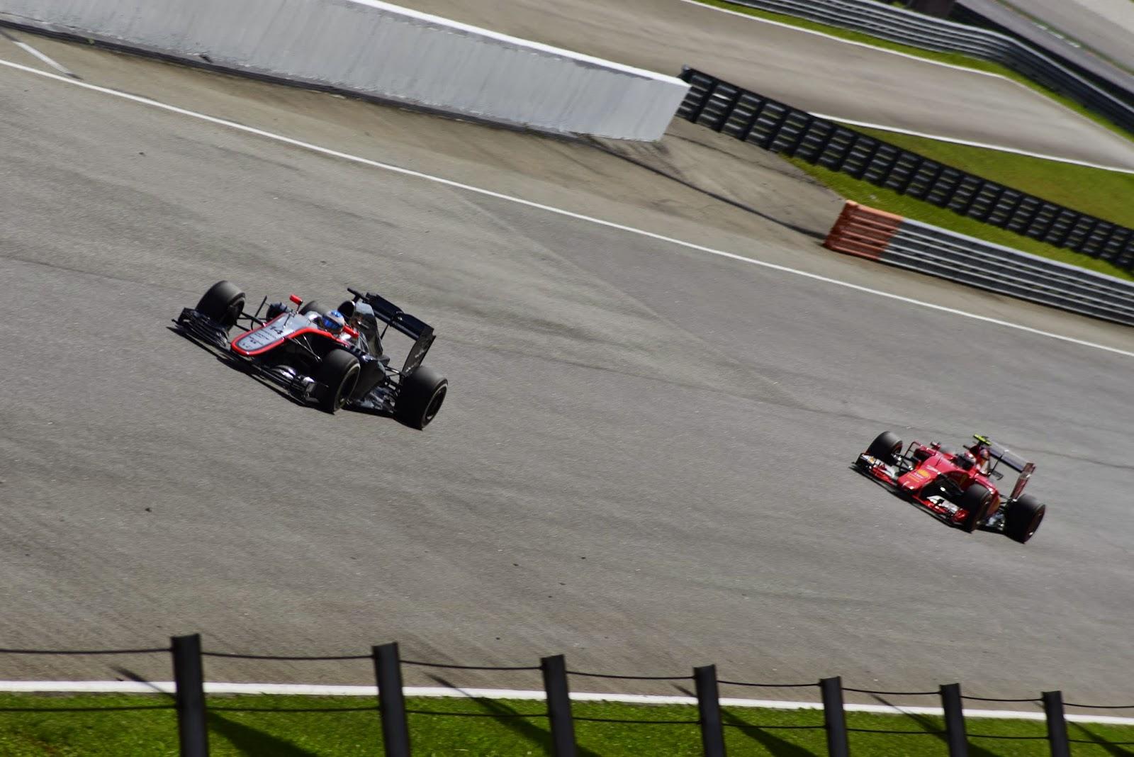 Former teammates in Motorsport