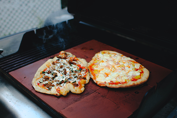 Grilled Pizza Recipe+Sitting In Our Tree
