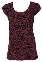 Tricou Pimkie Lisle Dark Red (Pimkie)