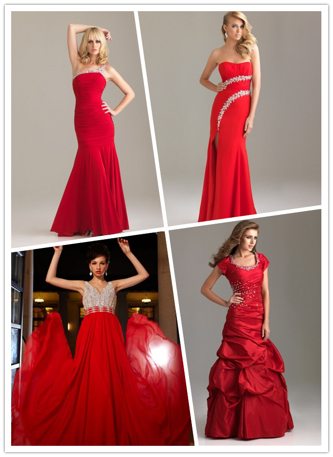Raining Blossoms Prom Dresses: Different Types Of Red
