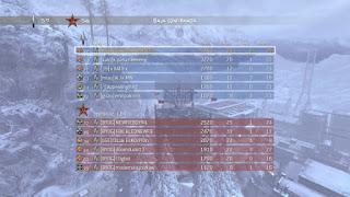 Call of Duty Modern Warfare 3: Mejor puntuación de Baja Confirmada en Outpost