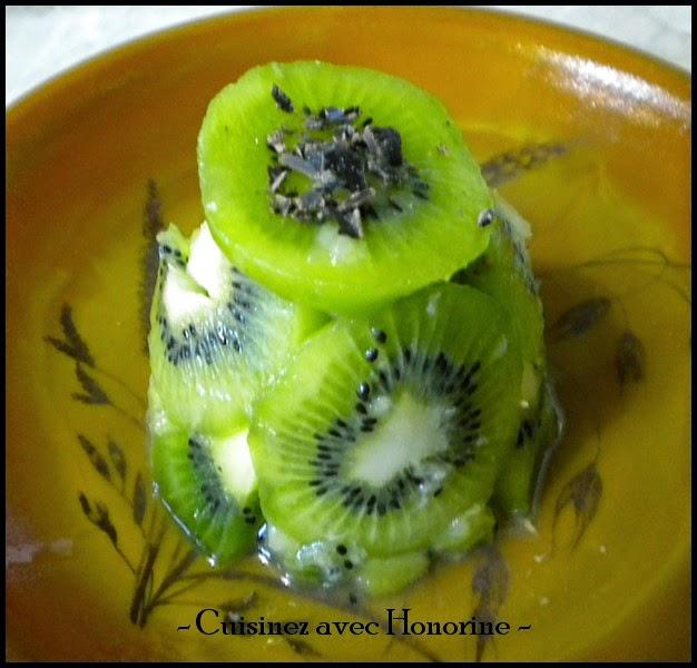 charlotte de kiwi à la banane