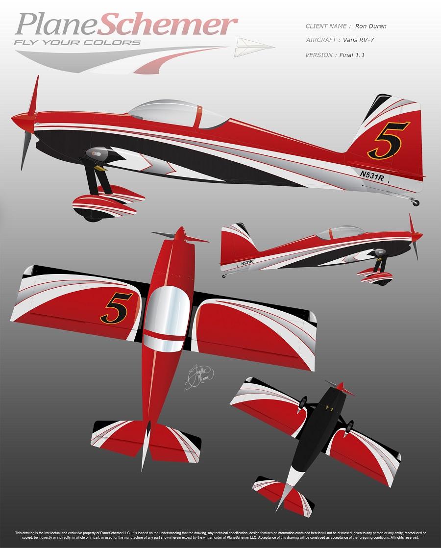 Plane Schemer Design