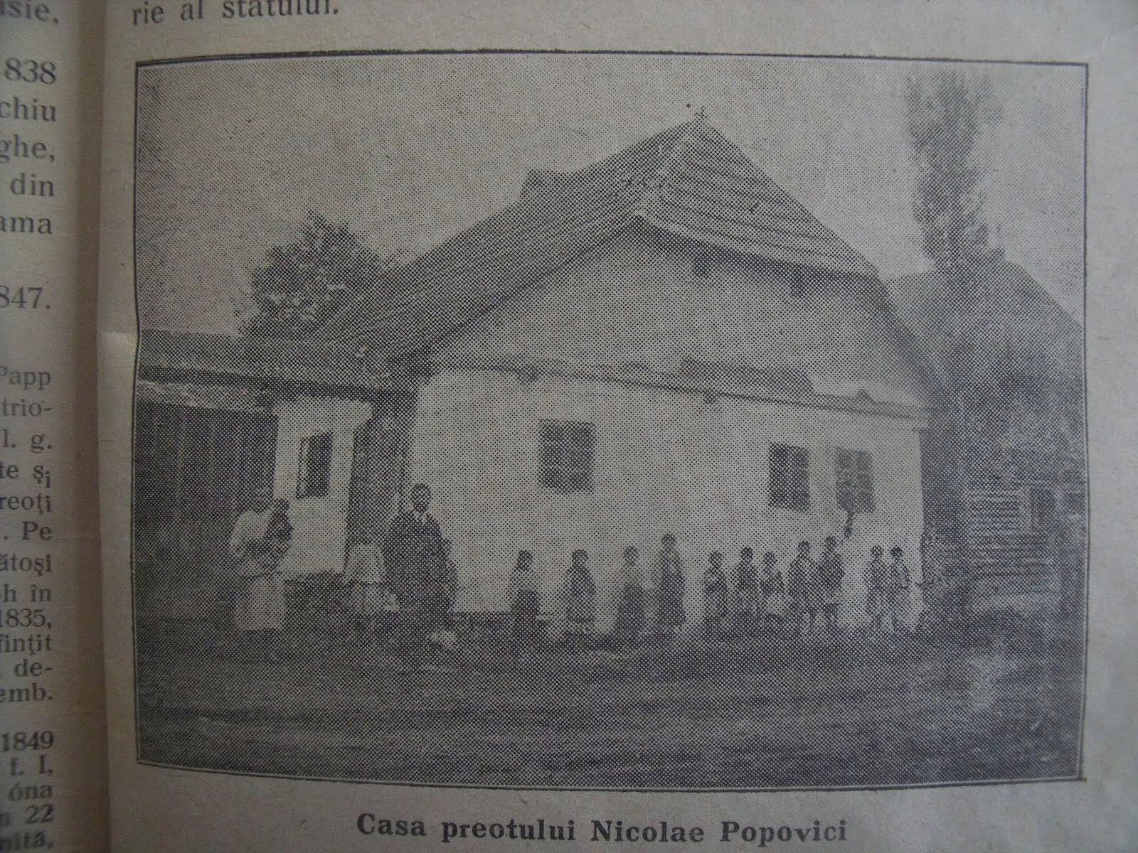 Casa preotului Nicolae Popovici