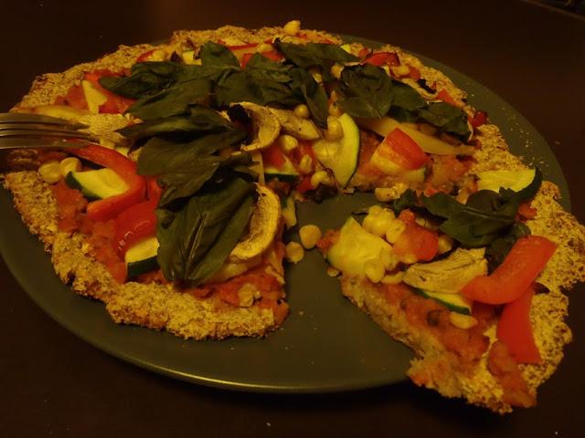 花椰菜餅皮披薩 Vegan Cauliflower Crust Pizza