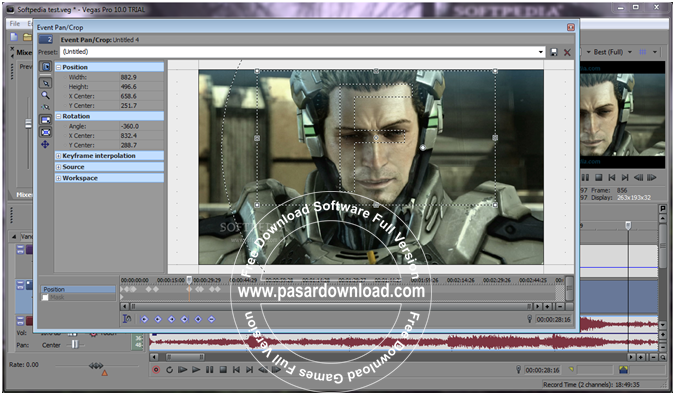 Free Download Sony Vegas Pro 13.0.290 x64 Full Version