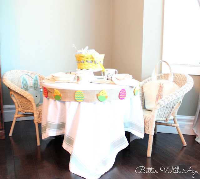 Adorable Easter Kids Table