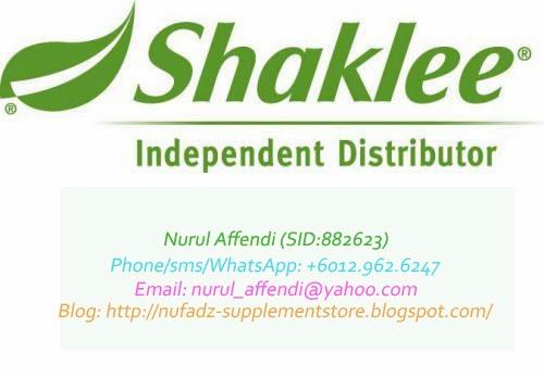 Pengedar Sah Shaklee Putrajaya