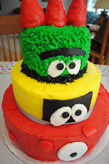 Cake Decorating Course Great Yarmouth : CONNOR S ROUGH LIFE: Connor s Yo Gabba Gabba 1st Birthday ...