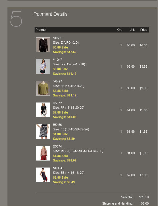 Then I headed over to Fabric.com and some sweater knits and