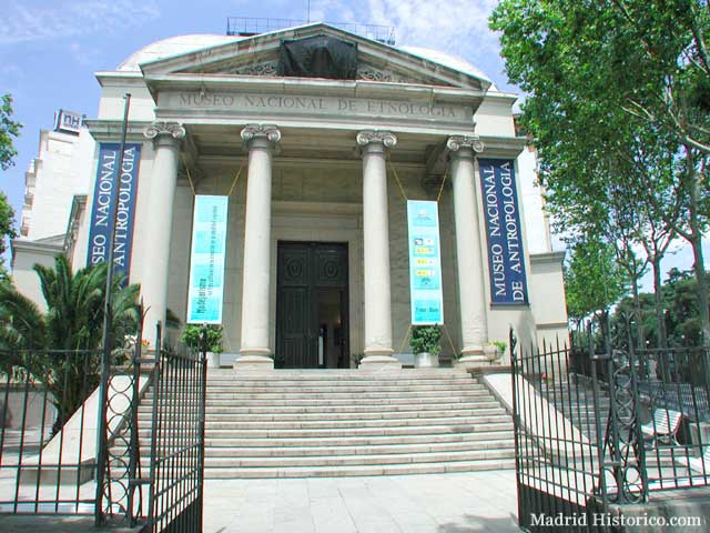 museo antropologico madrid: