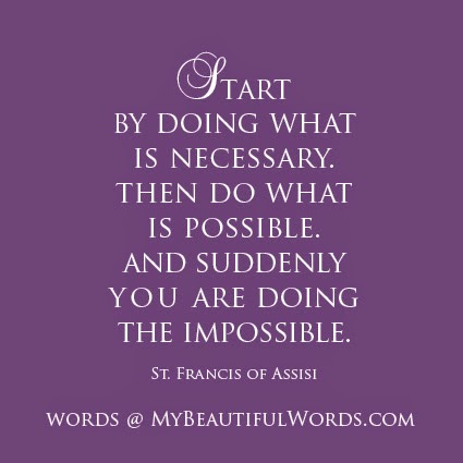 Francis Of Assisi Quotes Impossible. QuotesGram