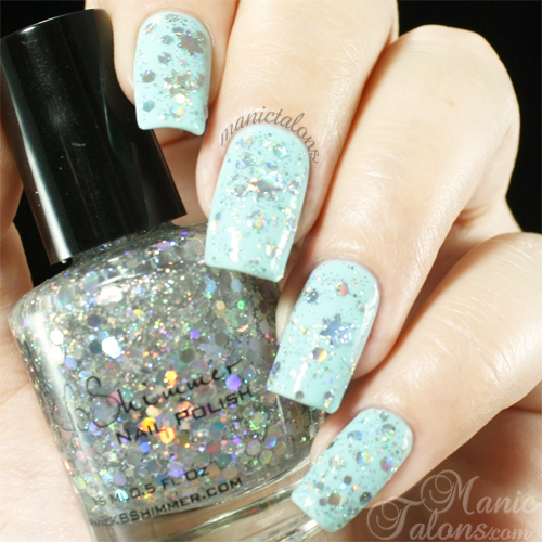 KBShimmer Flake Dance Swatch