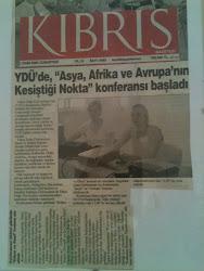 Finland Güney Doğu Avrupa Çalışmaları Ens.-Yakın Doğu Ünv. Uluslararası Kolokyum:1-3.10.2004,Kıbrıs