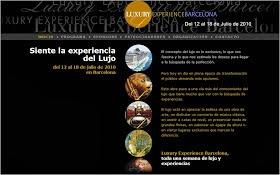 Elaboración de la web Luxury Experience Barcelona