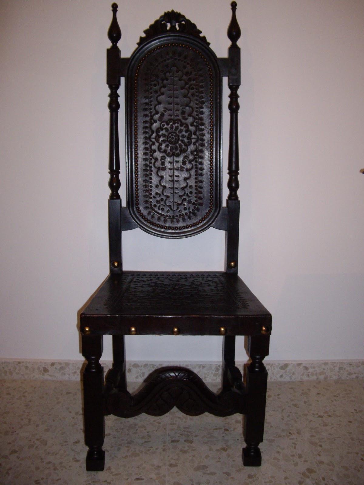 Antiguedades muebles de salon antiguo con mesa de comedor - Muebles antiguos en sevilla ...