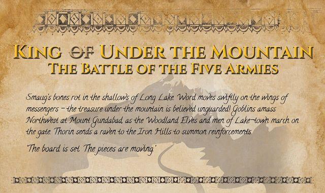 The Hobbit Battle Of Five Armies Infographic Visualistan