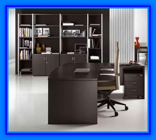 Muebles de oficina con tablero melamina  Web del Bricolaje Diseño
