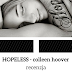 "To takie beznadziejne... ""Hopeless"" / Colleen Hoover"