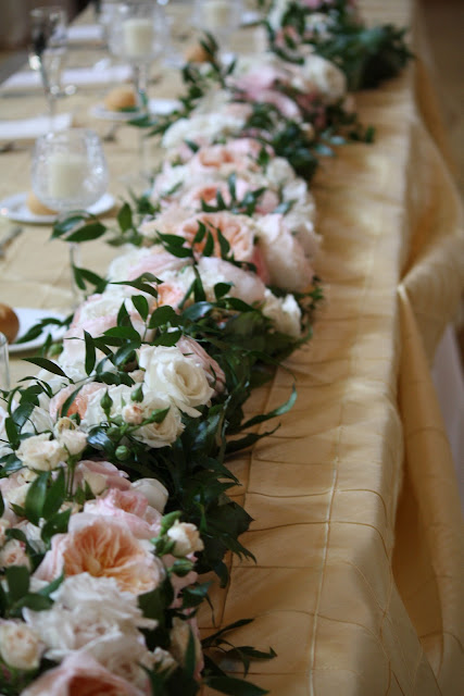 Saratoga Hall of Springs Flower Table Runner - Splendid Stems Event Florals