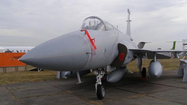 JF-17s Mysliwiec chinski najnowszej konstrucji dlla Pakistanu