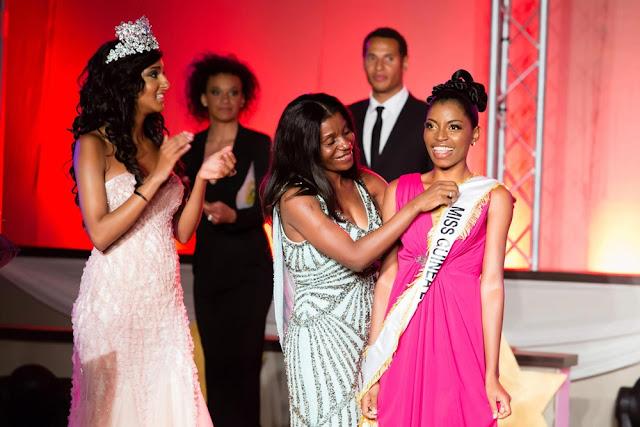 Miss Guinea Equatorial 2013 Restituta Mifumu Nguema Okomo