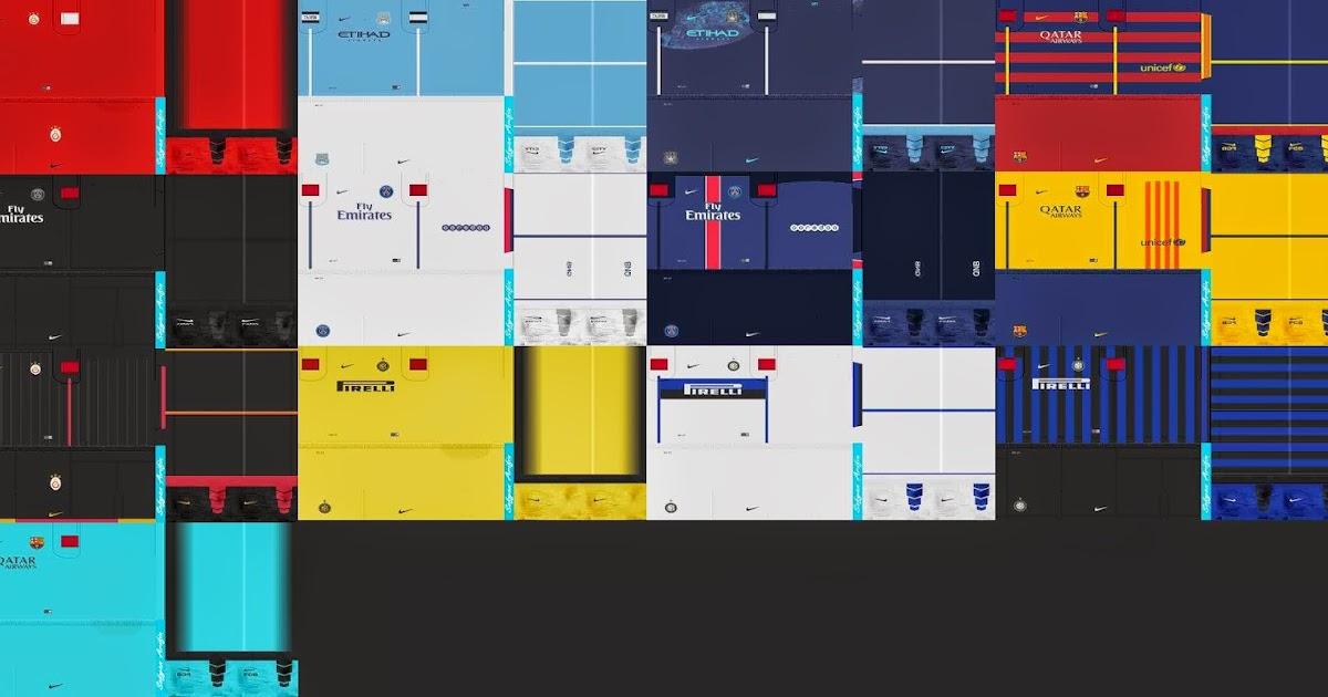 SANTARA PES: PES 2013 Leaked Kits Pack 15-16 by Sofyan Arifin