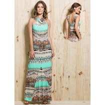 modelo de vestido longo estampado para evangélicas - dicas e modelos