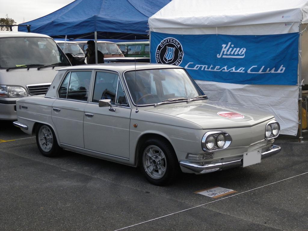 Hino Contessa, sedan, 1300, motoryzacja z duszą, stare samochody, クラシックカー