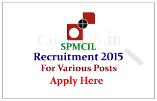 Security Printing and Minting Corporation of India Ltd Recruitment 2015 for the various posts