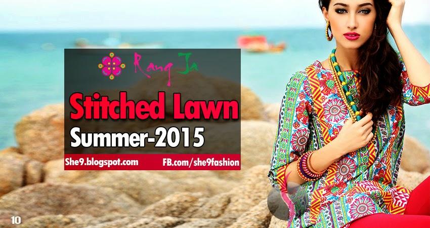 Rang-Ja Stitched Lawn Magazine