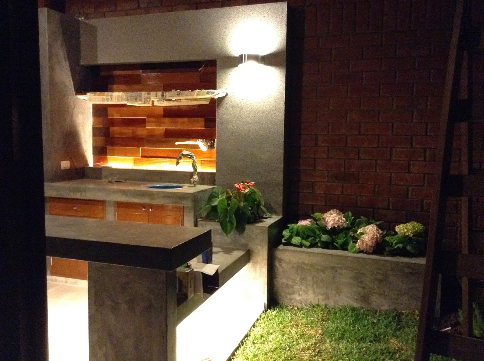 Oniria iluminaci n en parrilla de terraza Iluminacion de terrazas exteriores