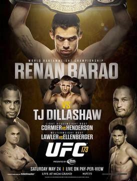 UFC 173 renan barao tj dillashaw